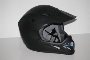 Adult Motcross Flat Black